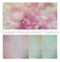 Vintage French Flair Free textures-  check out board from which this came