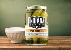 Elyse Myers Design, Indianapolis freelance Design branding, packaging, jar design, pickle