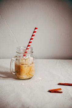 Overnight Cinnamon Iced Coffee and Cream