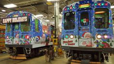 sprint cta holiday train 2015 - Cta Christmas Train 2014