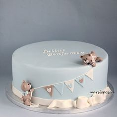 Martian Pig: Christening cake for baby, Christening cake for bab .-Marsispossu: Ristiäiskakku pojalle, Christening cake for baby boy Martian Pig: Christening cake for a boy, Christening cake for baby boy - Baby Cakes, Baby Birthday Cakes, Babyshower Cake Boy, Cake For Baby, Pink Cakes, Pretty Cakes, Cute Cakes, Beautiful Cakes, Amazing Cakes