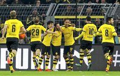 Con doblete de Aubameyang Borussia Dortmund goleó 4-1 al Stuttgart en la Bundesliga