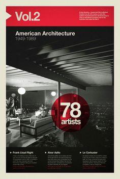 #6 - Amarican Architecture | Grotesque Sans - Helvetica Neue