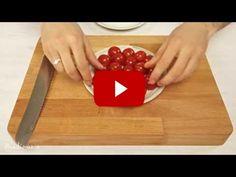 5秒鐘之內將15顆番茄切好?! 你肯定沒想過的好點子~ Cut tomatoes like a boss (in 5 seconds)