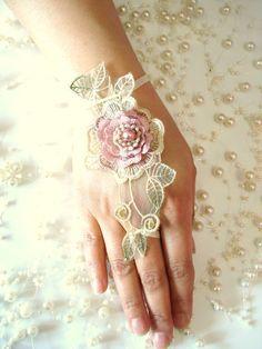 Bridesmaids gifts Bridal Accessories Wedding cuffs by WeddingGlobe, $17.00