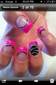 very very cool gel nails