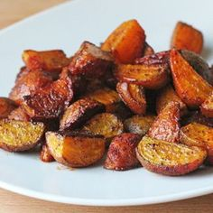 Spicy roasted golden beets