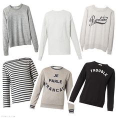 Trini blog | Sweatshirts Fall 2014: T by Alexander Wang, MM6 Maison Martin Margiela, Isabel Marant Etoile, Etre Cecile, Sea