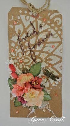 Gunn-Eirill`s Paper Magic: Friends Forever/ DT Wild Orchid Crafts