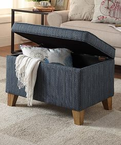 Cheap Storage Ottoman With Tufted Top Brown Bed Bath