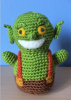 Ravelry: Clash of Clans/Royale Goblin pattern by KaBon Creations