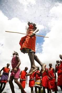 Masai Tribe...one of the tribes I studied a few years back! Awesome