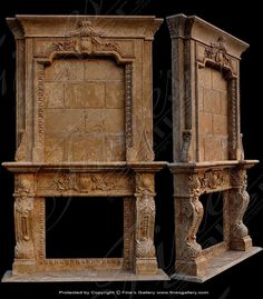 Marble Mantels | Fireplace Mantles | Marble Fireplaces | Hearths | Mantels | Custom Designed