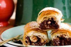 Chocolate hazelnut filo cigars – Recipes – Bite