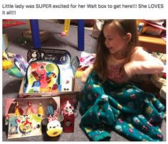 These sweet smiles though! These unboxing photos melt our  's! Get your Disney fix delivered to you at WaltLife.com! #waltlife #waltlifeboxes #disney #subscriptionboxes #happy #smile #tuesday #bright #gifts #giftsforher #valentine #valentinesday #valentinesdaygiftideas #valentinesgiftforhim #happy #mickeymouse #waltdisneyworld #disneyland #disneyprincess #disneybound #disneystyle #travel #unboxings #review #subscribe