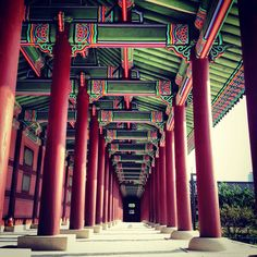 Gyeongbok Palace... Seoul - South Korea