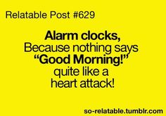 Alarm clocks - Funny Pictures, Funny jokes and so much more | Jokideo