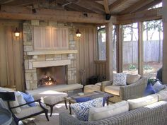 Outdoor Family Room