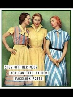 UGH...I HATE passive aggressive FB posters