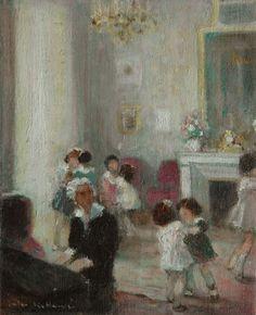 Jules-René Hervé (1887-1981) - La classe de danse