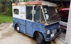 1 of 1 Mail Truck: 1963 Studebaker Zip Van Best Barns, United States Postal Service, Body Issues, Car Racer, Jeep Truck, Machine Design, Barn Finds, Diesel Engine, Old Trucks