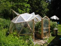 Pictures of  Geodesic Dome Greenhouse