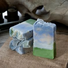 Handmade Laundry on the Line - Laundry and Blackberry Soap