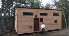 Tiny House Built in 4 Months for Tiny House Builders, Building A Tiny House, Build Your Own House, Tiny House Plans, Tiny House On Wheels, Full House, Modern Tiny House, Tiny House Living, Tiny House Design