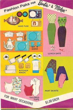 World of Barbie Fashions booklet 3 - Fashion Paks... (flickr.com/photos/matthewsutton/3806539906)