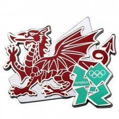 London 2012 Olympic Welsh Dragon Pin Badge -- Read more  at the image link. (This is an Amazon affiliate link and I receive a commission for the sales and I receive a commission for the sales)