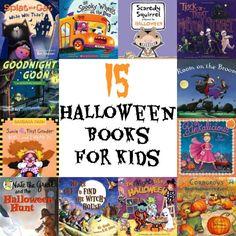 15 Halloween Books for Kids #halloweenbooks #booklists