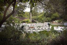 Outdoor Wedding Feast at The San Diego Botanical Gardens