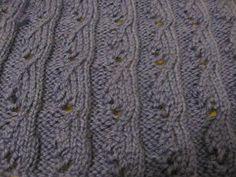 Knitting Stitches – Fuchsia pattern