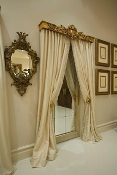 56th Chateau Couture Mirror Tiled Door... (400×600)