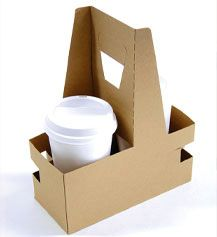 Share MrTakeOutBags.com with your friends and get a $5.00 off your order! 2 Cup Drink Carriers - 8 x 3.63 x 10.25"