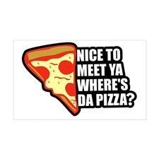 Where's Da Pizza  #pizza #food #foodie #humor #humorous #funny #typography #typographic #graphicart
