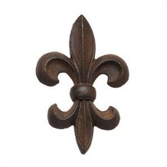 Focal for a backsplsh behind stove?!  GREAT IDEA!  or for  a outdoor fountain. or in a bathroom. lotsa ideas!   thanks for the jumping off point!!!  Cast Iron Fleur de Lis