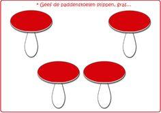 * Kleimat: Paddenstoelen in het bos...