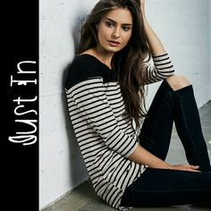 Anne Marie Striped Top Long sleeve stripe top. Price firm Tops Tees - Long Sleeve