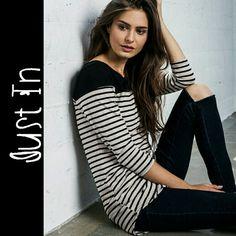Anne Marie Striped Top Long sleeve stripe top Tops Tees - Long Sleeve