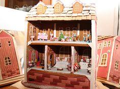 Gingerbread house Villa Rosa - Heleen's Hobbies - Vuodatus.net