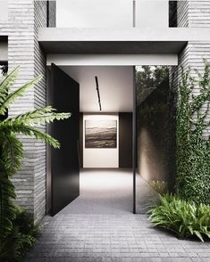 P I V O T - wow factor at the entrance of Mathourard development in Toorak 🌿Designed by @carrdesigngroup for @moda_au Visualization…