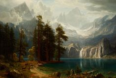Sierra Nevada (c. 1871–1873), Reynolda House Museum of American Art, Winston-Salem, North Carolina.