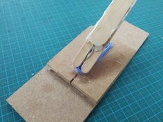 A Very Simple Catapult to Make With Kids : 6 Steps (with Pictures) - Instructables Girl Scout Swap, Girl Scout Leader, Popsicle Stick Crafts, Craft Stick Crafts, Craft Sticks, Catapult For Kids, Rocking Horse Toy, Girl Scout Crafts, Brownie Girl Scouts