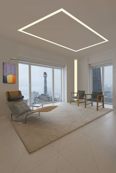 LED Plaster-In lighting solutions | TruQuad using TruLine 1.6A - by Pure Lighting