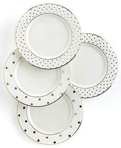 These Kate Spade plates really hit the spot on your dining table