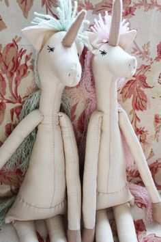 NEW Unicorn Ragdolls: VintageRecycled by TwiiceLoved on Etsy