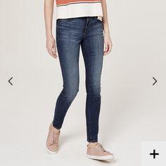 Ann Taylor LOFT Tall Modern Skinny Jeans 29 BNWT Ann Taylor LOFT Classic Dark Indigo Wash Skinny Jeans. BRANS NEW WITH TAGS! NEVER WORN! Size 29 LOFT Jeans Skinny