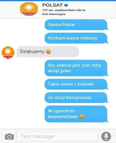 26 mistrzowskich rozmów facebookowych i smsowych – Demotywatory.pl Funny Sms, 9gag Funny, Haha Funny, Funny Texts, Funny Stuff, Funny Images, Funny Pictures, Funny Animal Quotes, Hilarious Animals