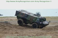 The VAB Mark 2 is a modernized version of its wheeled armoured vehicle personnel carrier VAB.